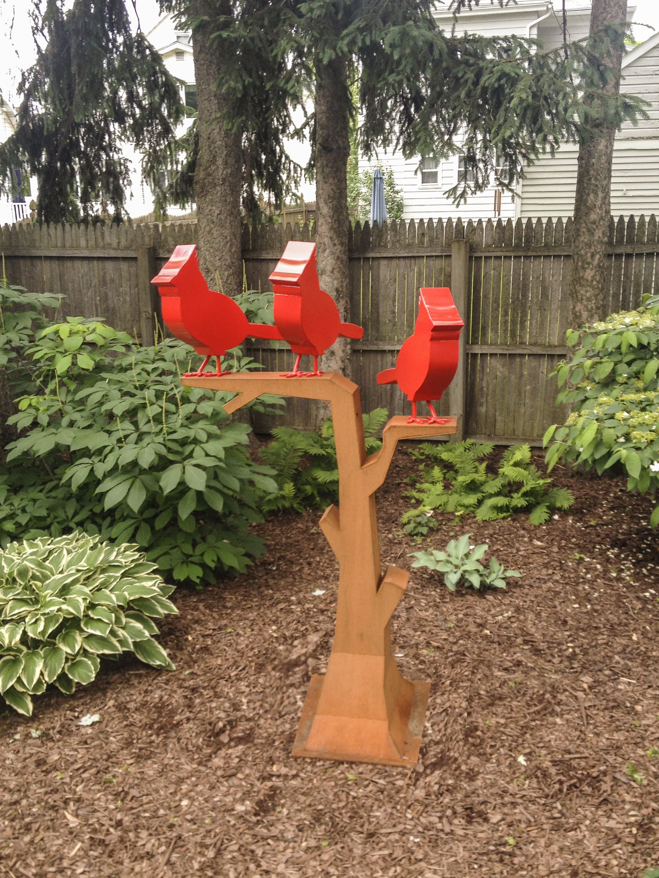 3 Cardinals in a Tree